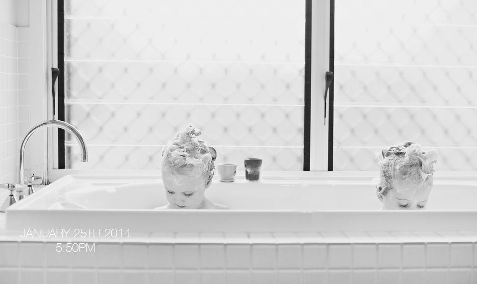 brisbane photographer, hair washing night